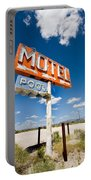 Abandoned Motel Portable Battery Charger