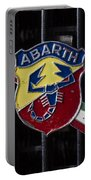 Abarth Emblem Portable Battery Charger