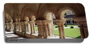 Abbey Fontenay - Cloister Vault  Portable Battery Charger