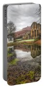 Abbey Reflection Portable Battery Charger by Adrian Evans