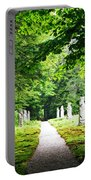 Abby Aldrich Rockefeller Path Statuary Portable Battery Charger