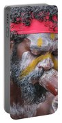 Aboriginal Playing Didgeridoo Portable Battery Charger