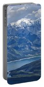 Above Lake Minnewanka #2 Portable Battery Charger