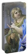 Abraham And The Three Angels Portable Battery Charger