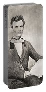 Abraham Lincoln, 1809 – 1865, Seen Here In 1854.  16th President Of The United States Of America Portable Battery Charger