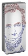 Abraham Lincoln  Portable Battery Charger by Gary Keesler
