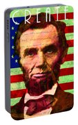 Abraham Lincoln Gettysburg Address All Men Are Created Equal 20140211p68 Portable Battery Charger