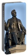 Abraham Lincoln Statue Philadelphia Portable Battery Charger