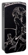 Absinthe Drinker After Picasso Portable Battery Charger
