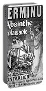 Absinthe Poster, 1892 Portable Battery Charger