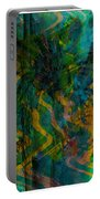 Abstract - Emotion - Apprehension Portable Battery Charger