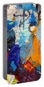 Abstract 10 Portable Battery Charger by John  Nolan