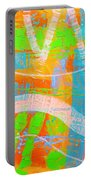 Abstract  23614   Diptych  I  Portable Battery Charger