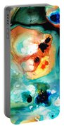 Abstract 5 - Abstract Art By Sharon Cummings Portable Battery Charger