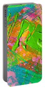 Abstract 6814 Diptych Cropped Xvi  Portable Battery Charger