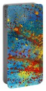 Abstract - Acrylic - Just Another Monday Portable Battery Charger by Mike Savad