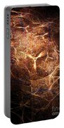 Abstract Angels Burning Sepia Portable Battery Charger