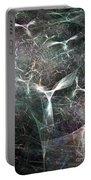 Abstract Angels White Portrait Portable Battery Charger