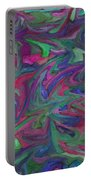 Juncture - Abstract Art Portable Battery Charger