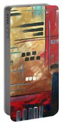 Abstract Art - Color Rush - Original Painting Madart Portable Battery Charger