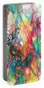 Abstract Art Focused Inward Towards The Divine 4 Portable Battery Charger