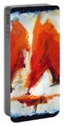 Abstract Art Forty-three Portable Battery Charger