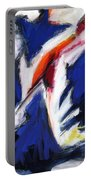 Abstract Art Forty-two Portable Battery Charger