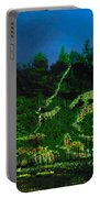 Abstract Art Nature Scenery Portable Battery Charger