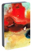 Abstract Art - No Limits - By Sharon Cummings Portable Battery Charger