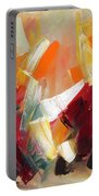 Abstract Art Sixty Portable Battery Charger