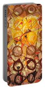 Abstract Art Sixty-six Portable Battery Charger
