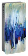 Abstract Art Sixty-two Portable Battery Charger