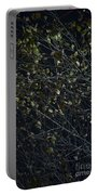 Abstract Background Of Tree At Night Portable Battery Charger