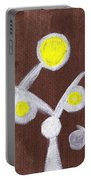 Abstract Bobbles Portable Battery Charger