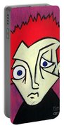 Abstract Boy Portable Battery Charger