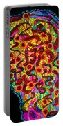 Abstract  Brain Portable Battery Charger