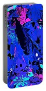 Abstract Butterfly #2 Portable Battery Charger