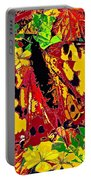 Abstract Butterfly #3 Autumn Portable Battery Charger