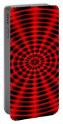 Abstract Circle Portable Battery Charger