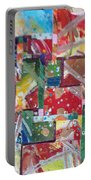 Abstract Collages 1 Portable Battery Charger