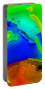 Abstract Color Fun Portable Battery Charger