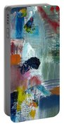 Abstract Color Relationships Lv Portable Battery Charger