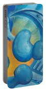 Abstract Color Study Portable Battery Charger