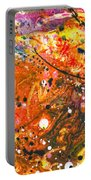 Abstract - Crayon - The Excitement Portable Battery Charger by Mike Savad