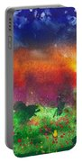 Abstract - Crayon - Utopia Portable Battery Charger by Mike Savad