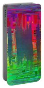 Abstract Cubed 113 Portable Battery Charger