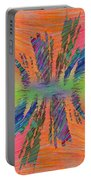 Abstract Cubed 168 Portable Battery Charger