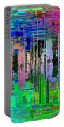 Abstract Cubed 19 Portable Battery Charger