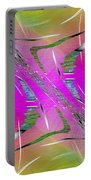 Abstract Cubed 223 Portable Battery Charger