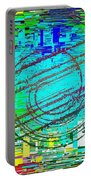 Abstract Cubed 41 Portable Battery Charger